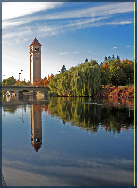Spokane WA Clock Tower